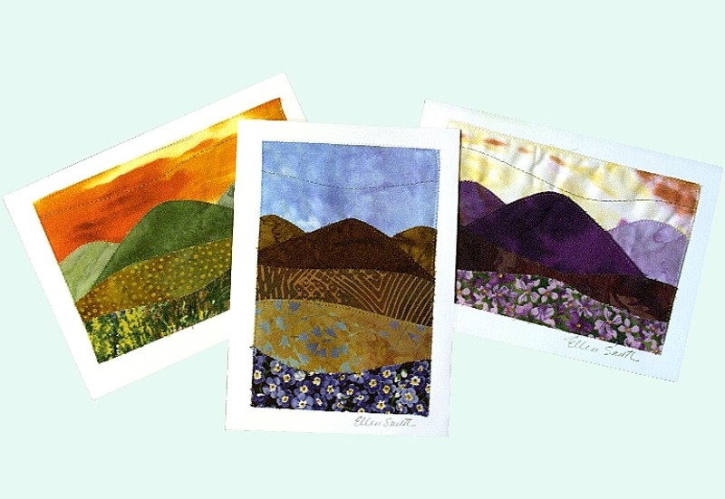 Quilted Note Cards: Outdoor, nature, aspen and mountain Scenes ... : quilted cards - Adamdwight.com